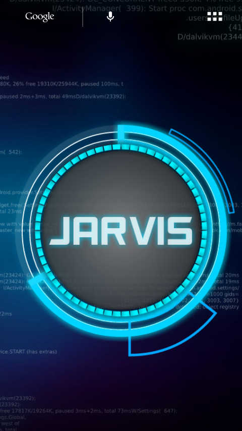 jarvis for android – I dont know zilch !